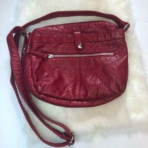 Bueno Soft Faux Leather Crossbody Bag